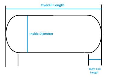 Online Calculator Cylindrical Tank Volume Calculator