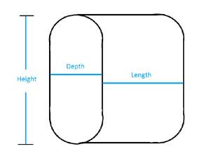 online calculator oval tank volume calculator